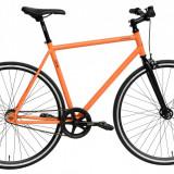 Bicicleta DHS Fixie 2896 (2016) Culoare Portocaliu 440mmPB Cod:21628964440 - Cursiere