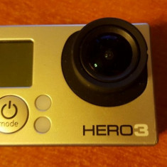 GoPro Hero 3 Silver Edition+card microSD 32GB SAMSUNG - Pachet vlogger - Camera Video GoPro Full HD Hero 3