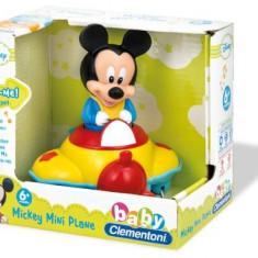 Avion Muzical Mickey Mouse - Jucarie zornaitoare Clementoni