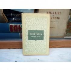 Opere alese , Walt Whitman , 1956