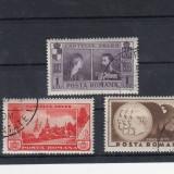 ROMANIA 1933, LP 105, SEMICENTENARUL CASTELULUI PELES SERIE STAMPILATA - Timbre Romania