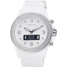 Smartwatch MyKronoz ZeClock Swarovski Alb