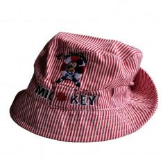 Palarie de vara bebelusi Mickey rosie - Palarie Copii