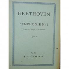 BEETHOVEN - SIMFONIA NR. 1 OPUS 21