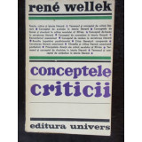 CONCEPTELE CRITICII - RENE WELLEK