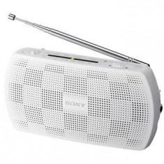 Radio portabil Sony SRF18W.CEV, alb - Aparat radio