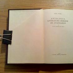 ANTOLOGIA LITERATURII ROMANE DE AVANGARDA - SASA PANA - EPL, 1969, 582 p.