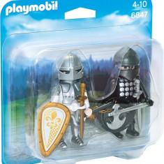 Set 2 Figurine - Cavaleri Rivali Playmobil