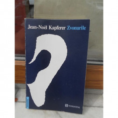 ZVONURILE, JEAN-NOEL KAPFERER - Carte Politica