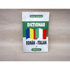 Dictionar Roman - Italian, George Lazarescu, 1997