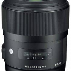 Obiectiv Sigma Canon 35/1.4 (A) DG HSM - Obiectiv DSLR