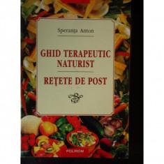 GHID TERAPEUTIC NATURIST RETETE DE POST - Speranta Anton - Crema epilare