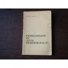 PEREGRINARI IN ARTA ROMANEASCA - PETRE OPREA