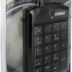 Tastatura numerica 4World USB Super mini cu cablu retractabil