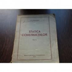 STATICA CONSTRUCTIILOR VOL.II - I.P.PROCOFIEV - Carti Constructii