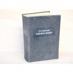Dictionar German-Roman, Ing. Florescu Gh., 1960