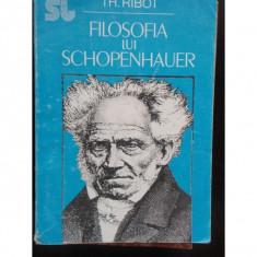 FILOSOFIA LUI SCHOPENHAUER - TH. RIBOT - Filosofie