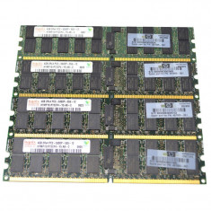 Memorii Server DDR2 Hynix 4096Mb PC2-5300P ECC, REG HYMP151P72CP4-Y5 - Memorie server, 4 GB, 667 mhz
