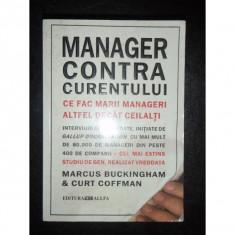 MANAGER CONTRA CURENTULUI - Curt Coffman - Carte Management