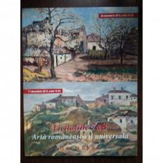 Arta romaneasca si universala - GRIMBERG (licitatiile 7 & 8)