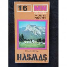 HASMAS - EMILIAN CRISTEA - Carte de calatorie