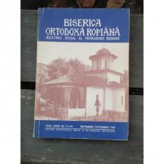 BISERICA ORTODOXA ROMANA NR.9/10, SEPTEMBRIE OCTOMBRIE 1967