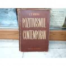 Pozitivismul Contemporan , i. S. Narski , 1964