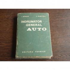 Indrumator General Auto , Dr. ing. Ion Birsan , Ing. Virgil Dumitru