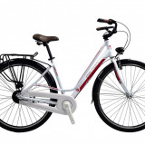 "Bicicleta Devron City Lady LC1.8 Crimson White, M - 520/20, 5""PB Cod:215CL185292 - Bicicleta de oras"