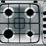 Plita incorporabila INDESIT PIM 640 AS IX, 4 arzatoare, gaz, aprindere electrica, inox