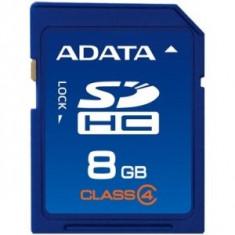 SECURE DIGITAL CARD SDHC 8GB (Class 4) ADATA