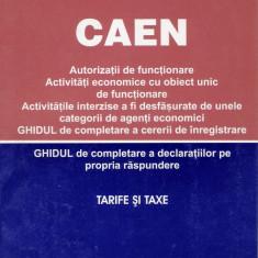 CAEN. Clasificarea activitatilor din economia nationala - 21493 - Carte Economie Politica