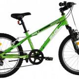 Bicicleta DHS Terrana 2023 (2016) Culoare VerdePB Cod:216202380 - Bicicleta copii