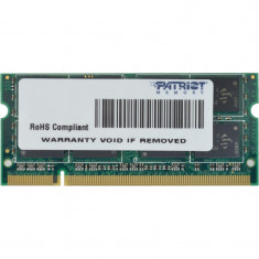Memorie notebook Patriot Signature 2GB DDR2 800MHz CL6 - Memorie RAM