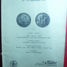 Catalog de Licitatie nr.66 Muller Solingen 1990 -Numismatica antica, medalii