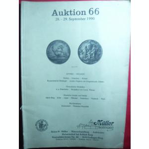 Catalog de Licitatie nr.66 Muller Solingen 1990 -Numismatica antica ,medalii
