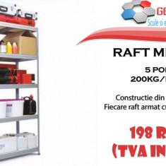 Raft metalic 5 polite 200kg/polita - Dulap scule Service