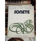 SONETE , GRIGORE HAGIU