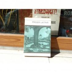 Proza latina, Dumitru Craciun, 1967 - Carte Antologie