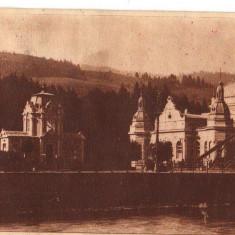 CPI (B8143) CARTE POSTALA - VATRA DORNEI. PARCUL, RPR - Carte Postala Moldova dupa 1918, Circulata, Fotografie
