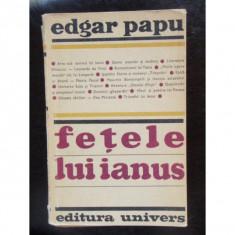 FETELE LUI IANUS - EDGAR PAPU