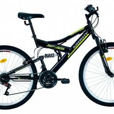 Bicicleta Kreativ 2641 (2016) culoare Negru/VerdePB Cod:216264160 - Mountain Bike