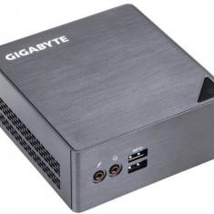 Sistem PC Gigabyte Brix Ultra Compact mini (Intel Core i3 6100U 2.3GHz, HDMI, LAN, WIFI, MiniDisplayport, 4xUSB 3.0) - Sisteme desktop fara monitor