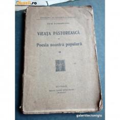 Ovid Densusianu, Vieata pastoreasca in poesia noastra populara, VOLUMUL 2,1923, prima editie