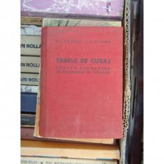 TABELE DE CUBAJ PENTRU CHERESTEA DE RASINOASE SI FOIOASE, AL VENDEL - Anvelope camioane