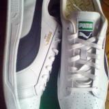 Adidasi Puma Lima 40.5 alb gri -piele naturala- produs original- IN STOC