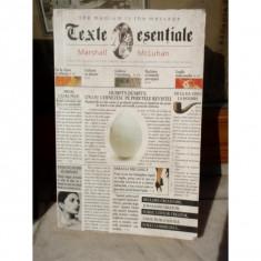 TEXTE ESENTIALE, MARSHALL MCLUHAN - Carte Antologie