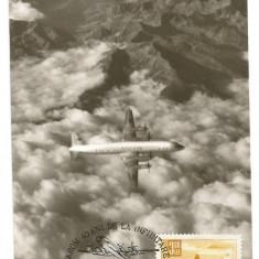 No(2)ilustrata maxima-Tarom 40 de ani de la infnfiintare, Romania de la 1950, An: 1971, Canotaj