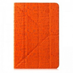"""'Life is' universal case for 10"""" tablet (Color: Orange) - Suport auto tableta CANYON"""