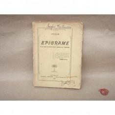 Epigrame , Carmen Sylva , 1908
